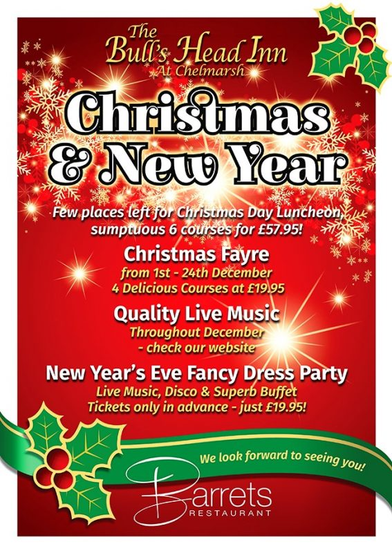 New Year's Eve Fancy Dress Party at The Bull's Head Inn, Chelmarsh, Bridgnorth